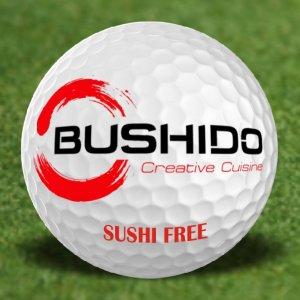 free sushi bushido