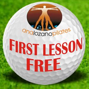 Ana Lozano Pilates first lesson free